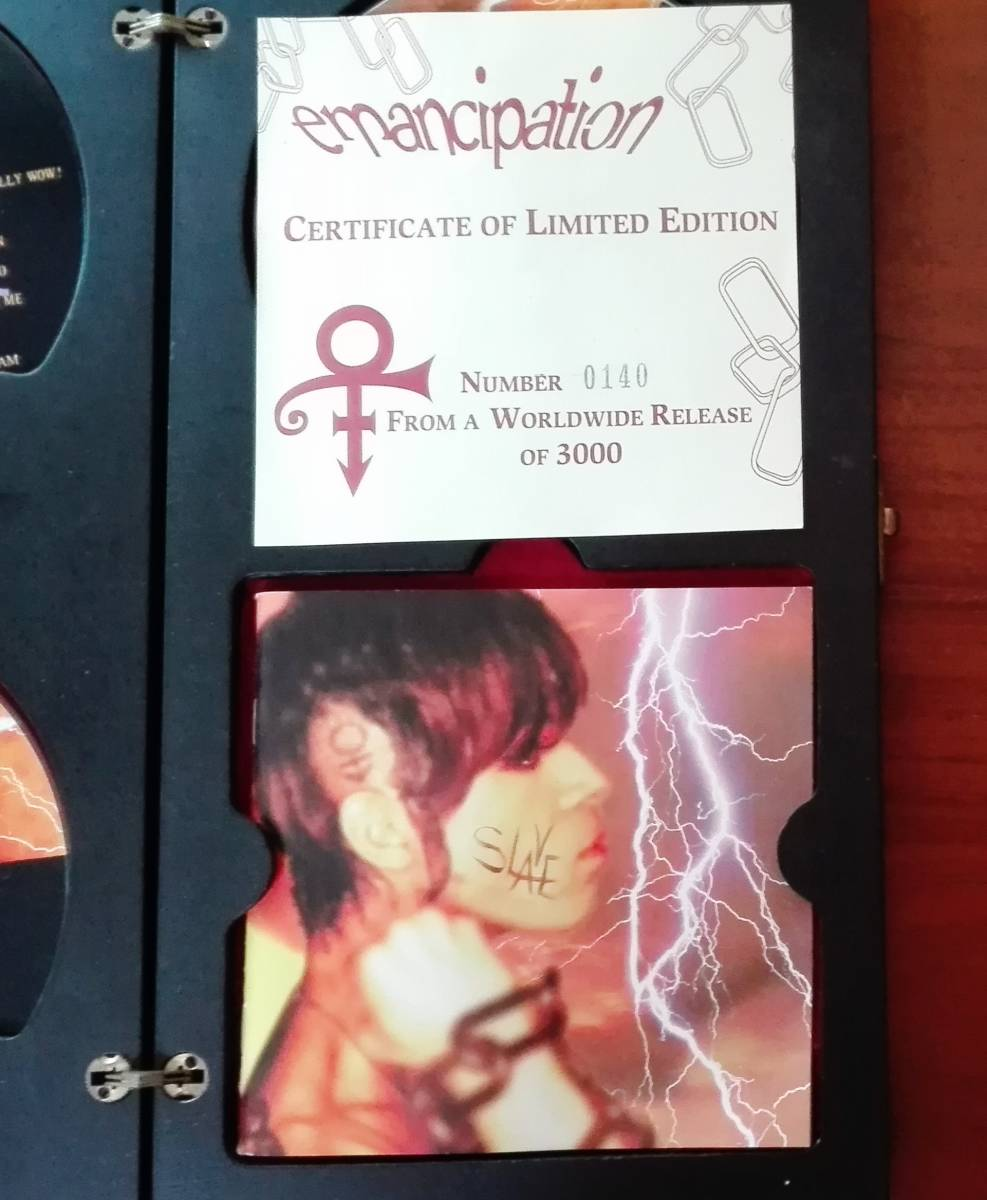 Prince - emancipation [CERTIFICATE OF LIMITED EDITION] WORLDWIDE RELEASE OF 3000_画像3