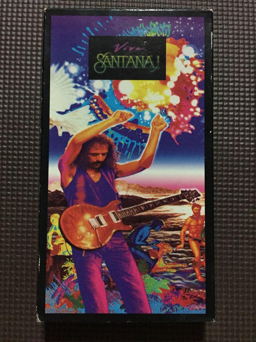 サンタナ VIVA SANTANA 【激レア】輸入盤VHSビデオ_画像1