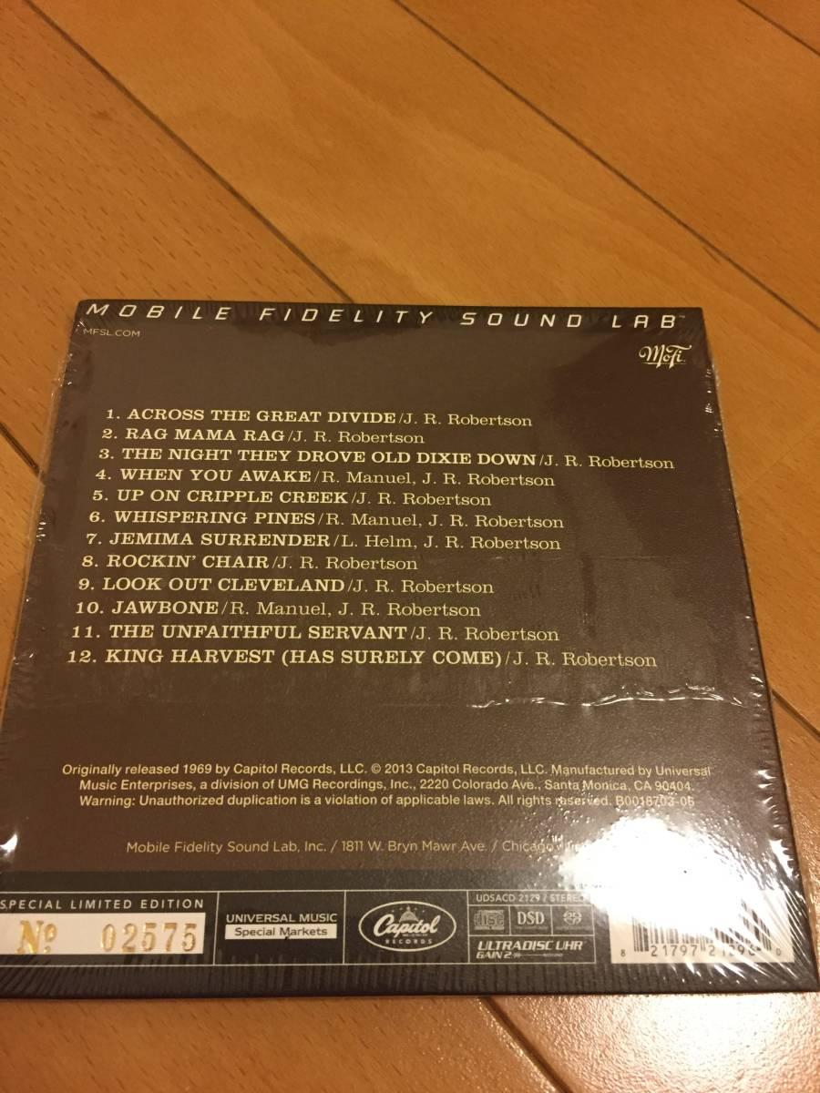 【MFSL Mobile Fidelity Sound Lab】The Band / The Band (Hybrid SACD)_画像2
