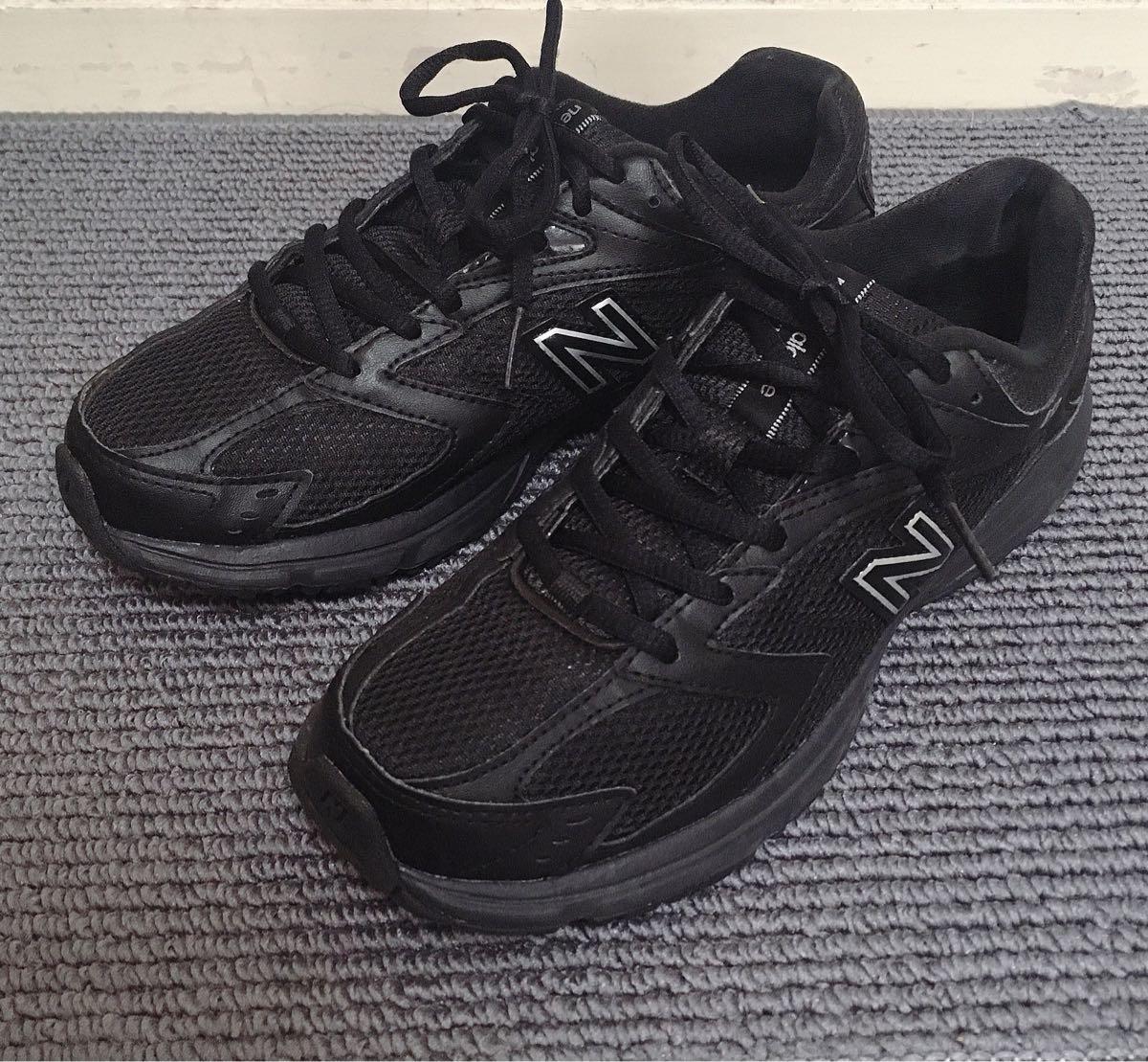 【極美品】NEW BALANCE 413 スニーカー 黒 24.5/ニューバランス_画像2