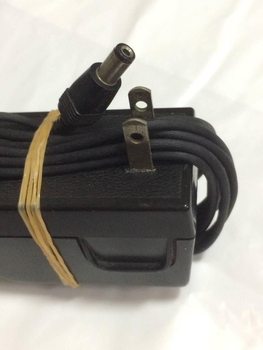 DCアダプターsony AC-110 動作品 プラグ修理ありジャンク2 検icf5900ラジオ_画像5