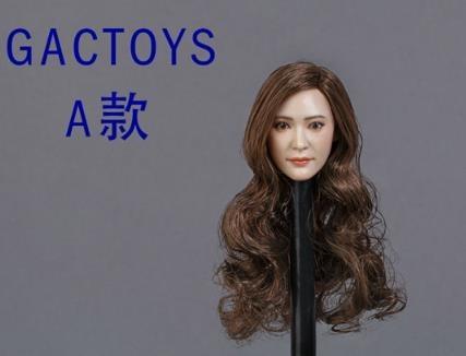 新品 1/6 GACTOYS GC014-A 第1弾 ヘッドアジア女性 PHICEN/TBLeague対応 (ヘッドのみ、素体無し)2018年新発_画像2
