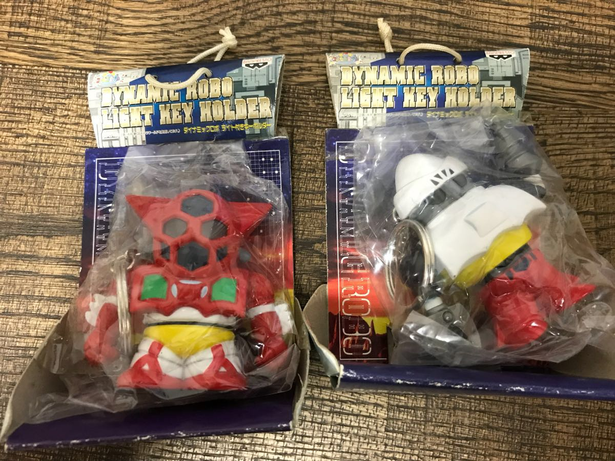 Keychain dynamic Lobo light Mazinger Z Getter Robo