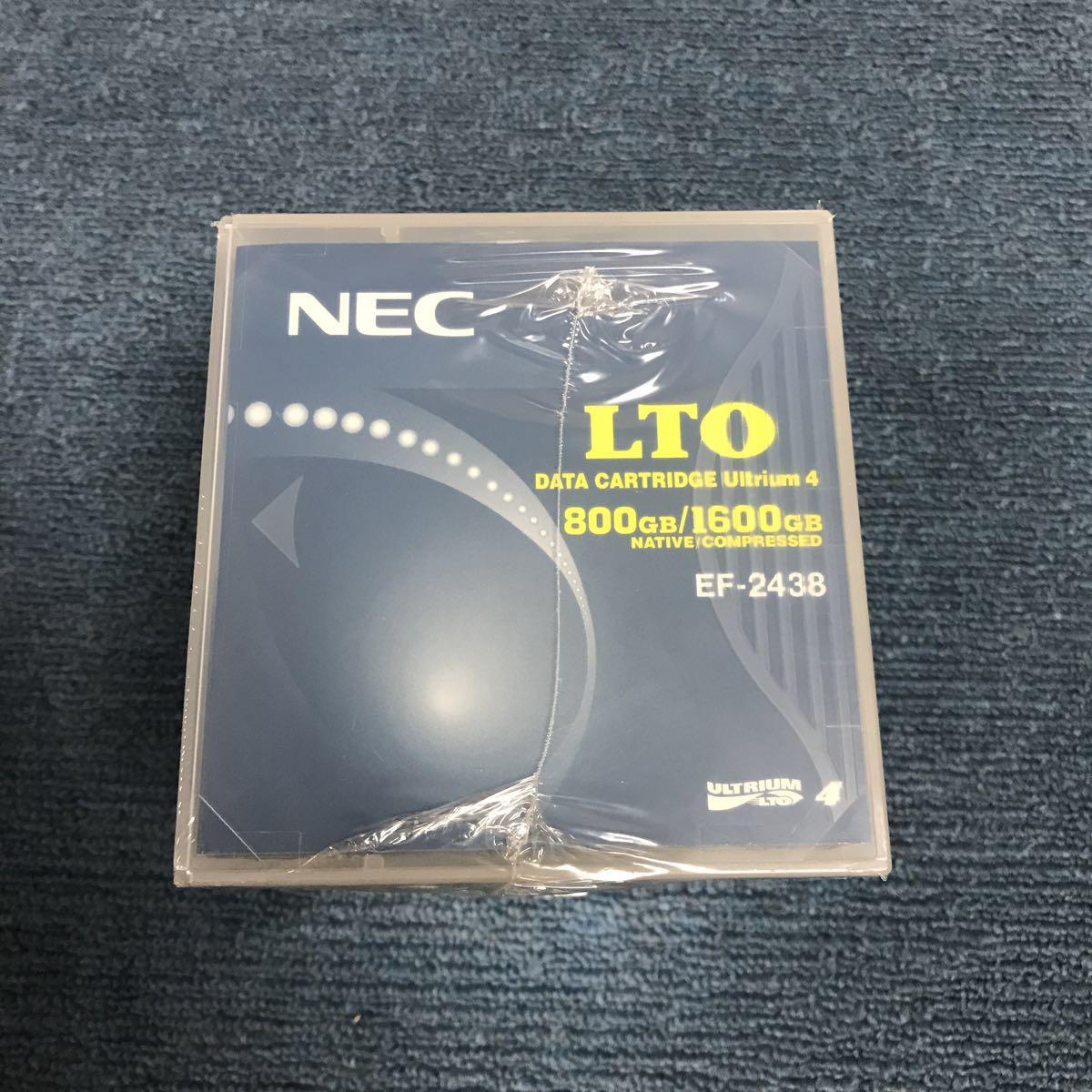 ☆新品未使用 NEC LTO DATA CARTRIDGE Ultrium 4 EF-24380 5個セット☆