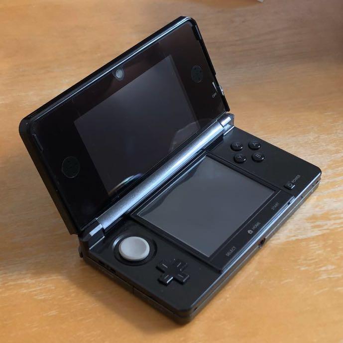中古おまけ付き ニンテンドー3DS 本体 黒 コスモブラック Nintendo 任天堂_画像8