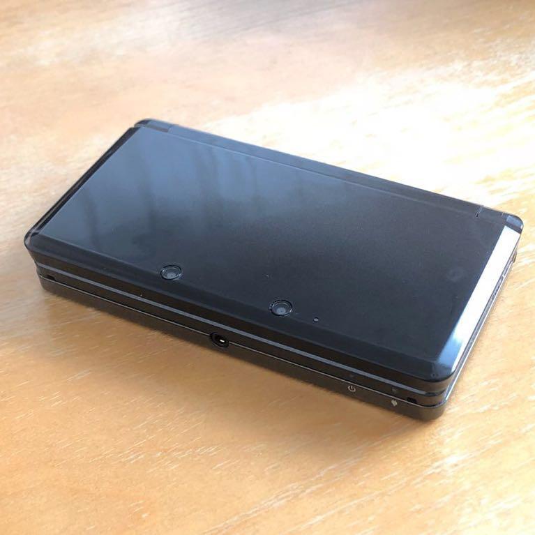 中古おまけ付き ニンテンドー3DS 本体 黒 コスモブラック Nintendo 任天堂_画像9