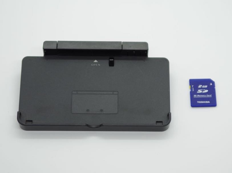 中古おまけ付き ニンテンドー3DS 本体 黒 コスモブラック Nintendo 任天堂_画像5