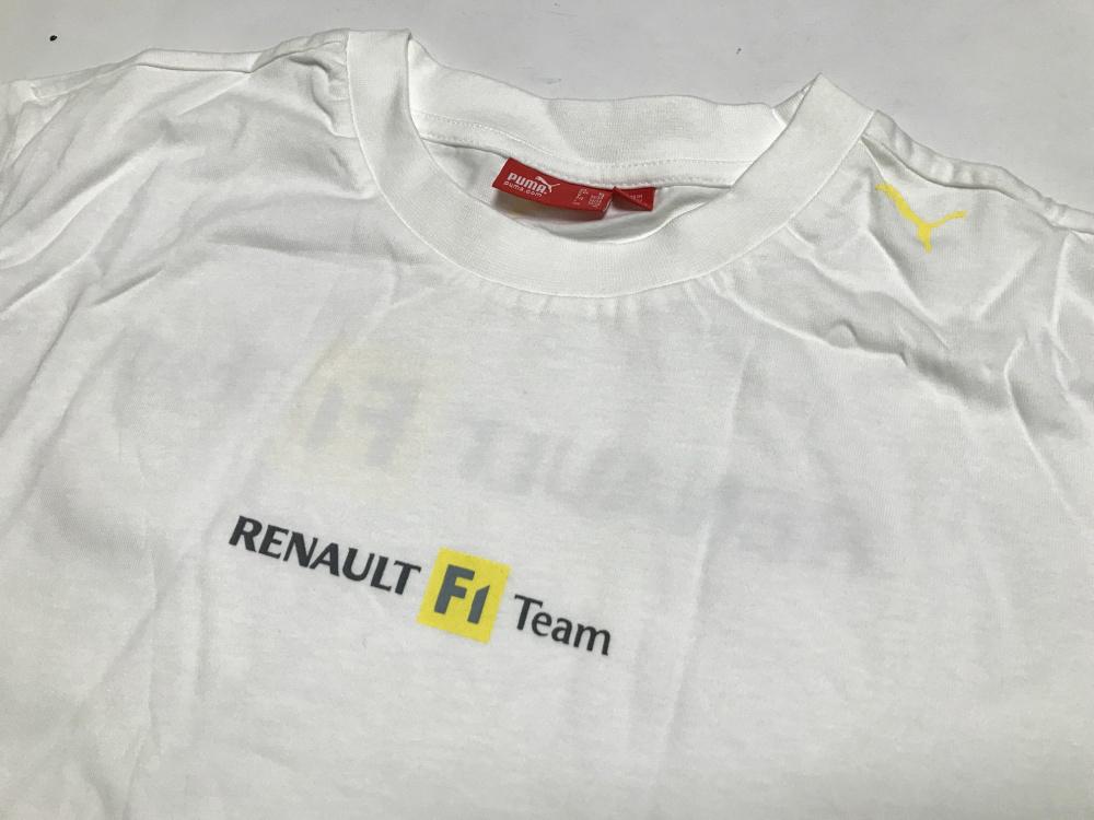 ルノーF1 2005支給品 トラベルTシャツ XL PUMA 非売品 アロンソ フィジケラ メガーヌ ルーテシア RS_画像3