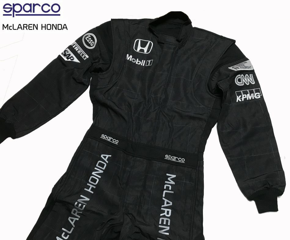マクラーレン・ホンダ 2015支給品 クルー用スーツ 52   sparco 非売品 アロンソ バトン_画像1