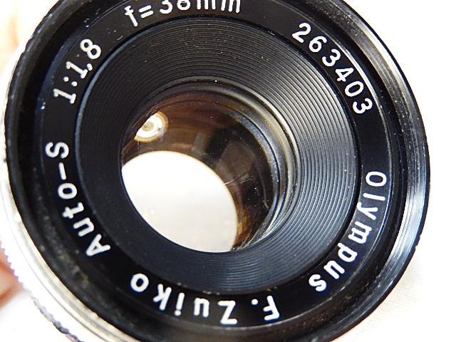★美品 オリンパス ペンFT 38mm 1:1.8 露出計作動OK モルト交換 点検清掃・作動確認済_画像7
