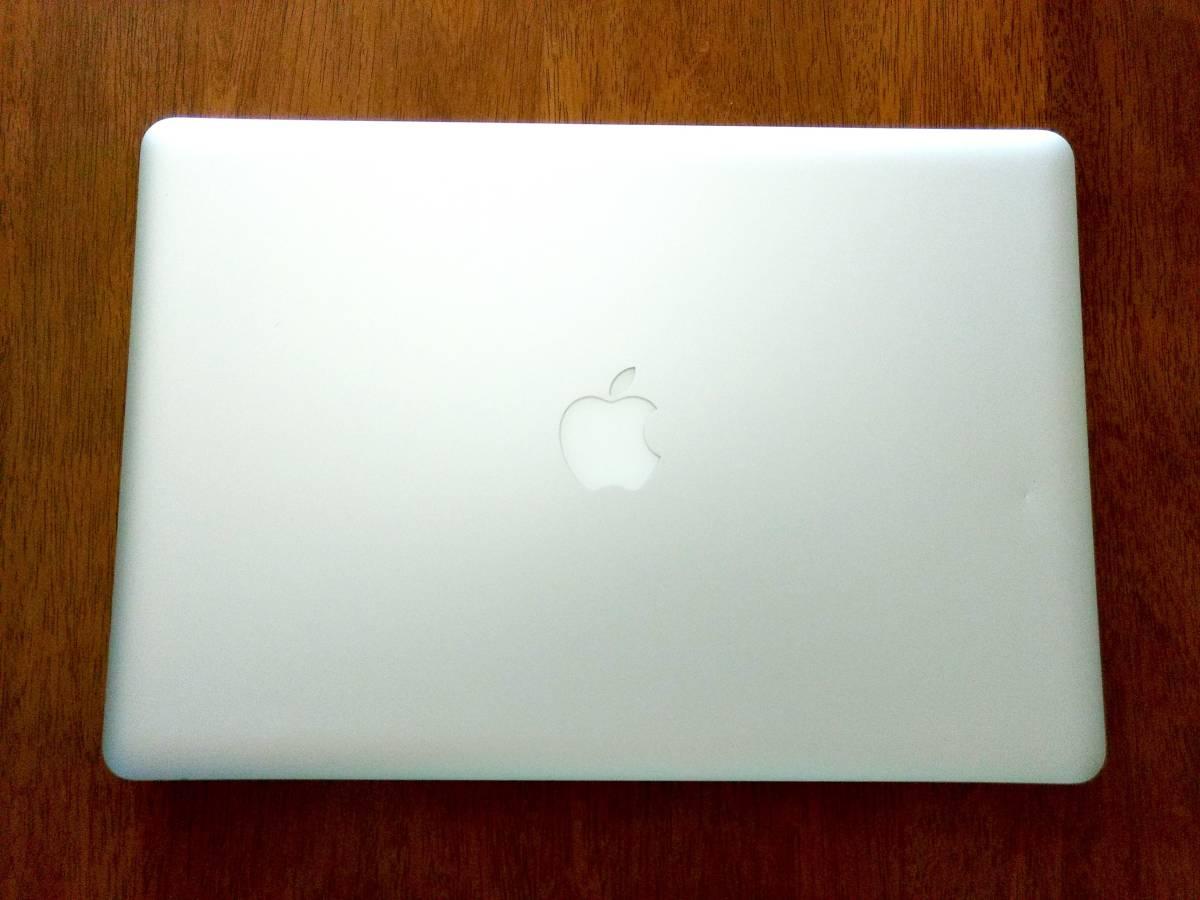動作可ジャンク◆Apple MacBook Pro 15インチ Core i7 A1286 MD318J/A CTOカスタマイズ品 高解像度液晶_画像3