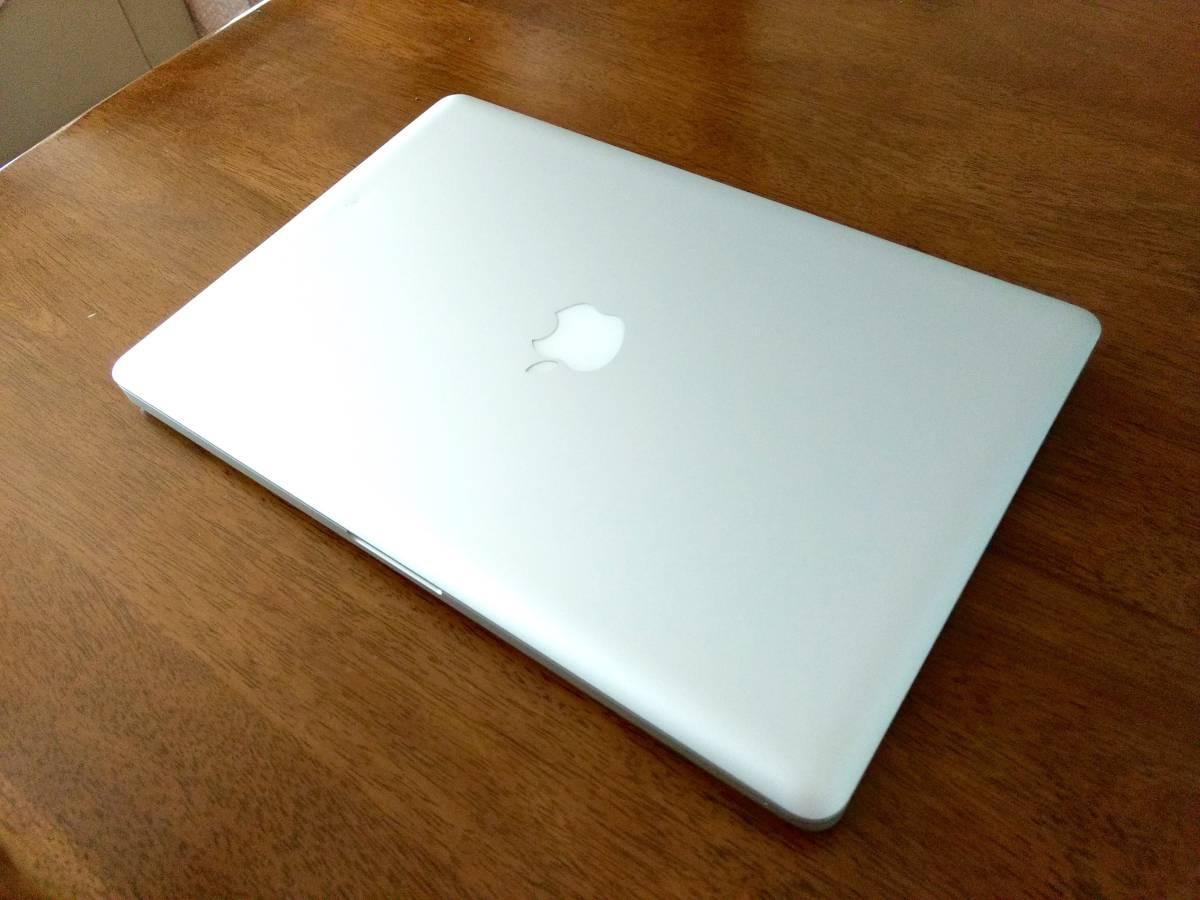 動作可ジャンク◆Apple MacBook Pro 15インチ Core i7 A1286 MD318J/A CTOカスタマイズ品 高解像度液晶_画像4