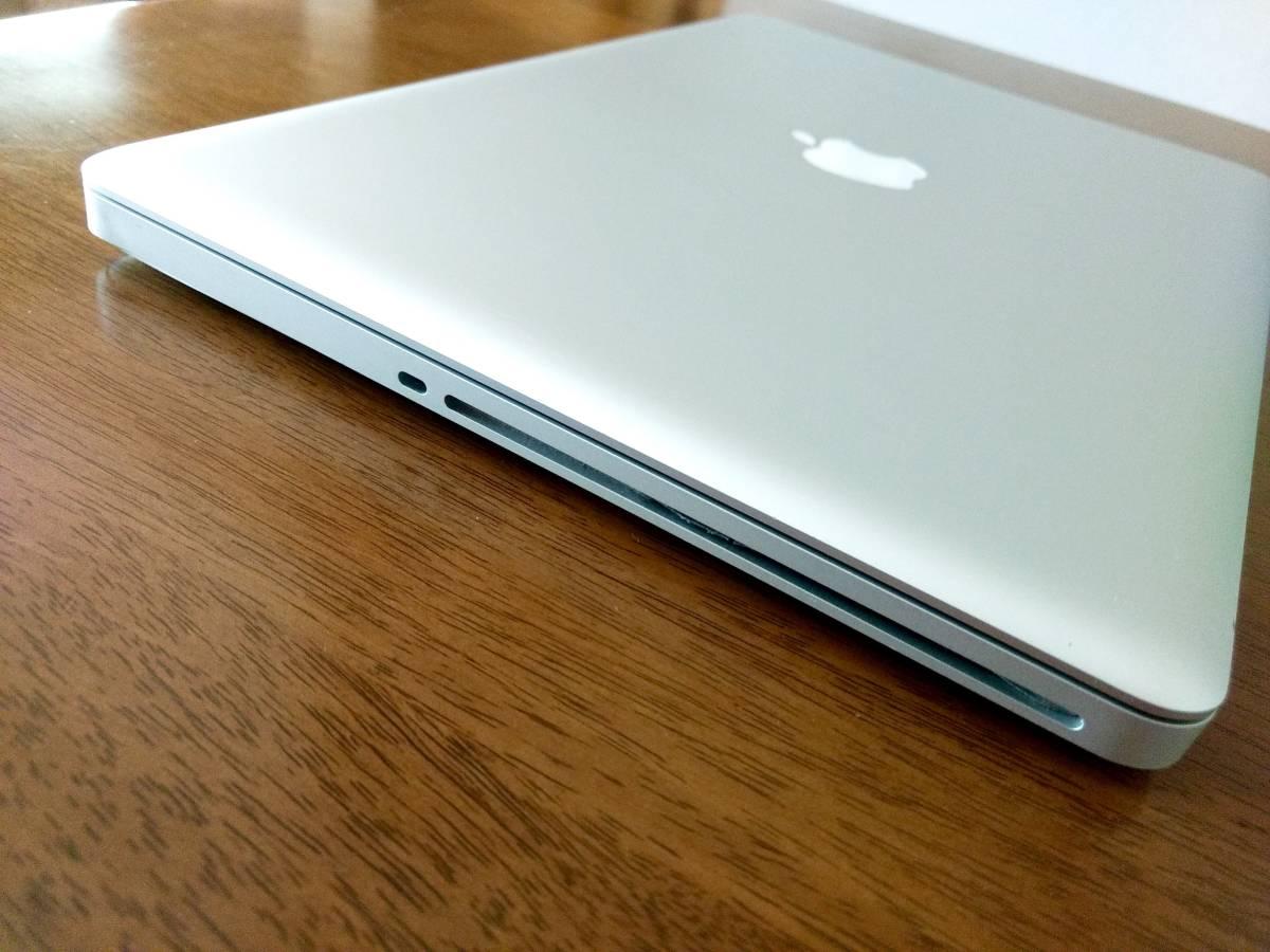 動作可ジャンク◆Apple MacBook Pro 15インチ Core i7 A1286 MD318J/A CTOカスタマイズ品 高解像度液晶_画像5