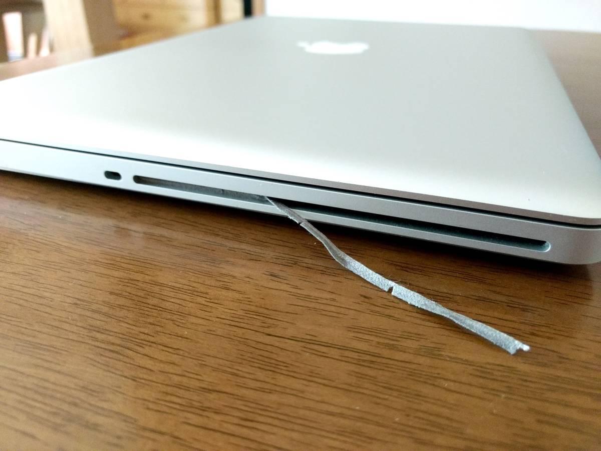 動作可ジャンク◆Apple MacBook Pro 15インチ Core i7 A1286 MD318J/A CTOカスタマイズ品 高解像度液晶_画像9