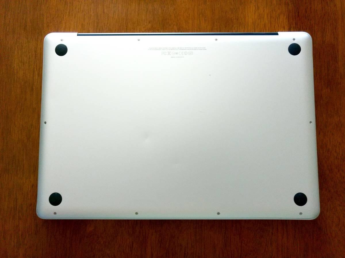 動作可ジャンク◆Apple MacBook Pro 15インチ Core i7 A1286 MD318J/A CTOカスタマイズ品 高解像度液晶_画像10