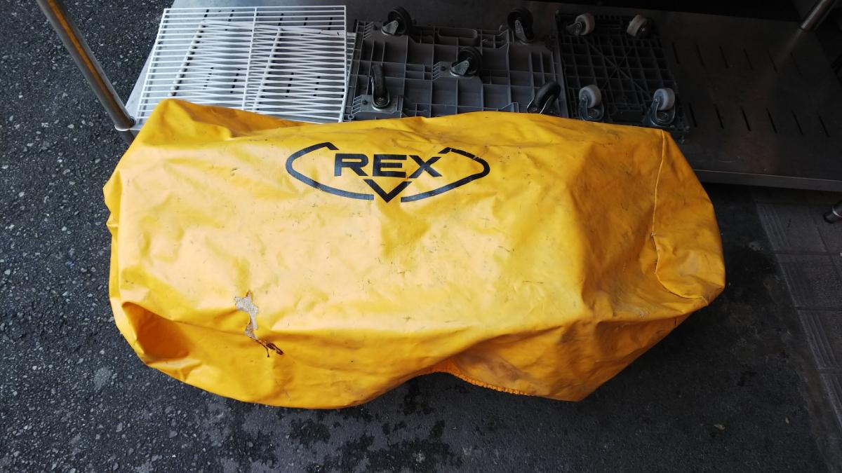RAX レッキス ねじ切り機 S80AⅢ 100V パイプマシン ネジ加工 100ボルト 電動 カバー付き_画像10