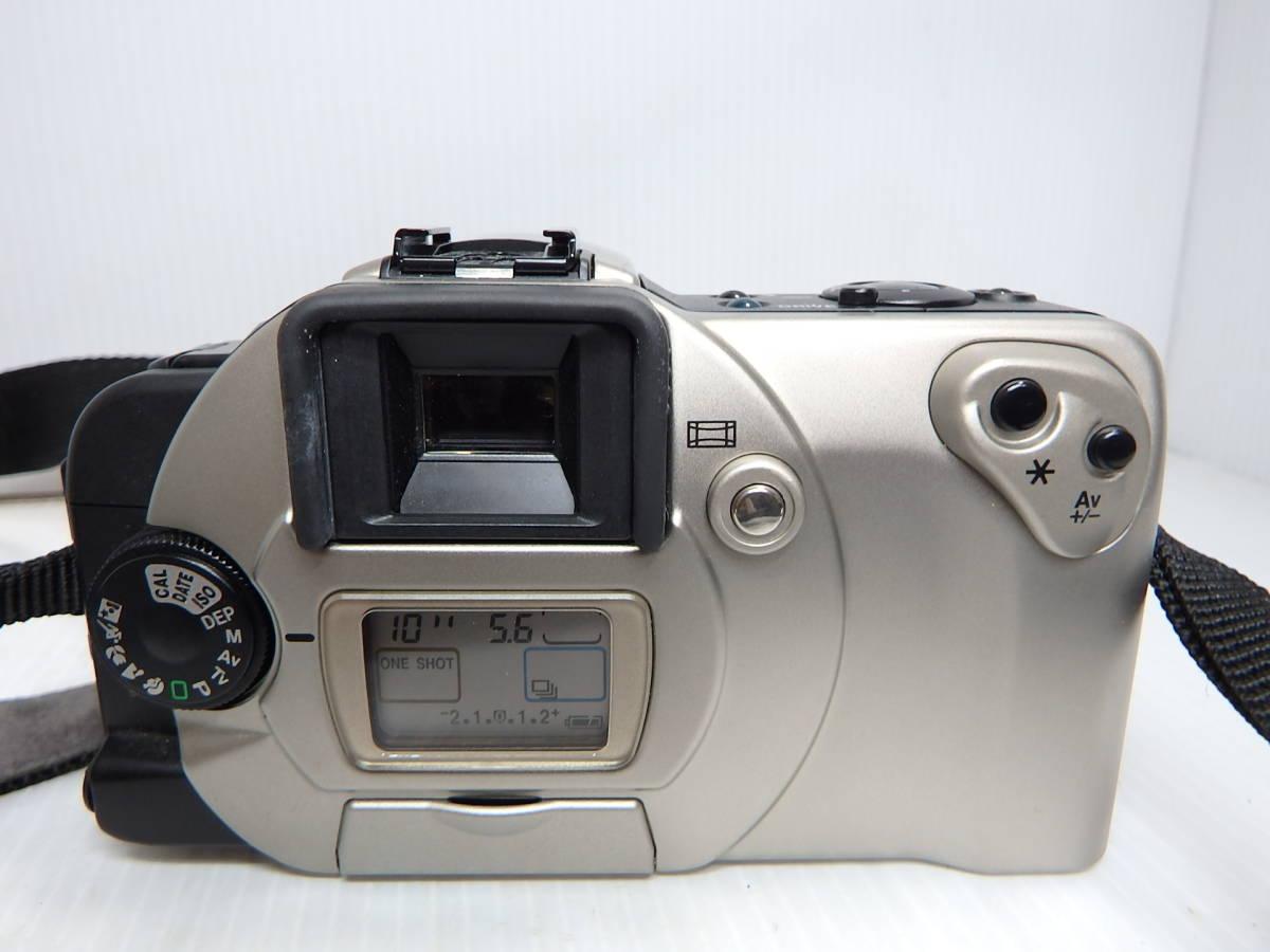 キヤノン APS一眼レフカメラ EOS IX E レンズ EF 35-80mm f4-5.6 Ⅲ 広角~標準ズーム 取説 純正バッグ付き canon 管クモロ606_画像5