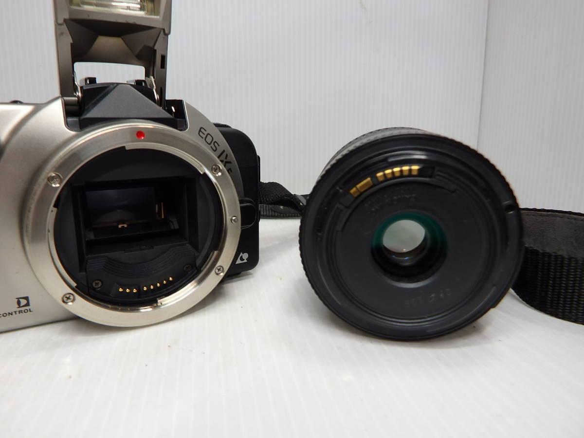 キヤノン APS一眼レフカメラ EOS IX E レンズ EF 35-80mm f4-5.6 Ⅲ 広角~標準ズーム 取説 純正バッグ付き canon 管クモロ606_画像4