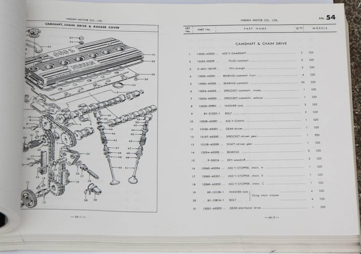 日産 スカイライン 2000GT パーツカタログ GC10シリーズ ハコスカ KPGC10 GTR S20 L28 フェアレディZ ローレル ジャパン 高橋国光_画像3