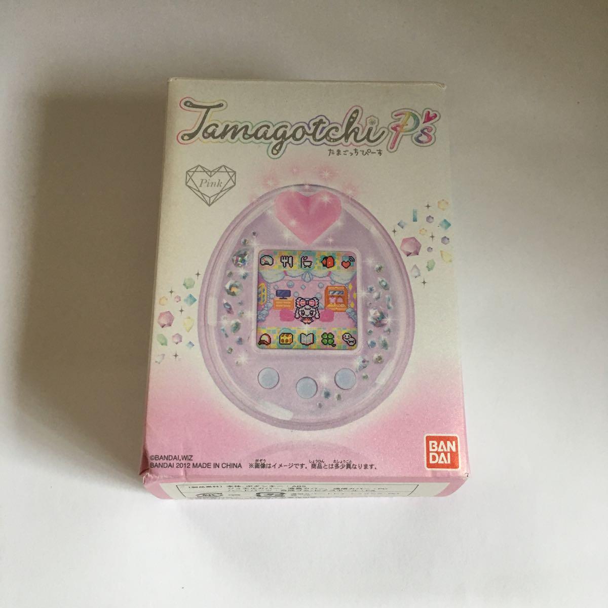 未使用品 Tamagotchi P's ピンク たまごっち ぴーす ピース バンダイ ドン・キホーテ購入品