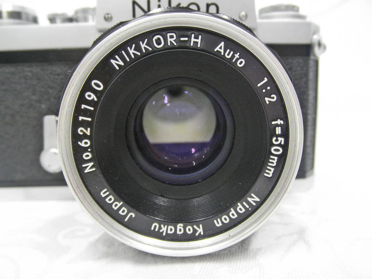 ☆Used ニコン F No.6601244 レンズ・ケース・取説 付 ☆_画像3