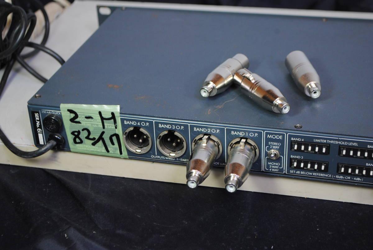 クロスは指定で、チャンネル デバイダー FDS-360  完動美品8217【3ヶ月保証】_画像5