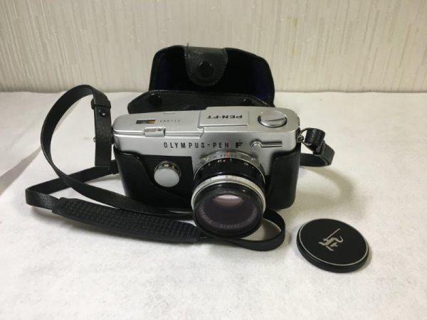 OLYMPUS オリンパス 一眼レフカメラ PEN-FT ブラック&シルバー 【ジャンク】