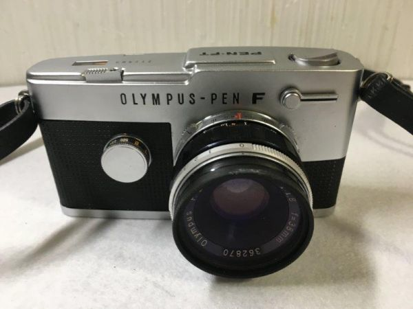 OLYMPUS オリンパス 一眼レフカメラ PEN-FT ブラック&シルバー 【ジャンク】_画像2