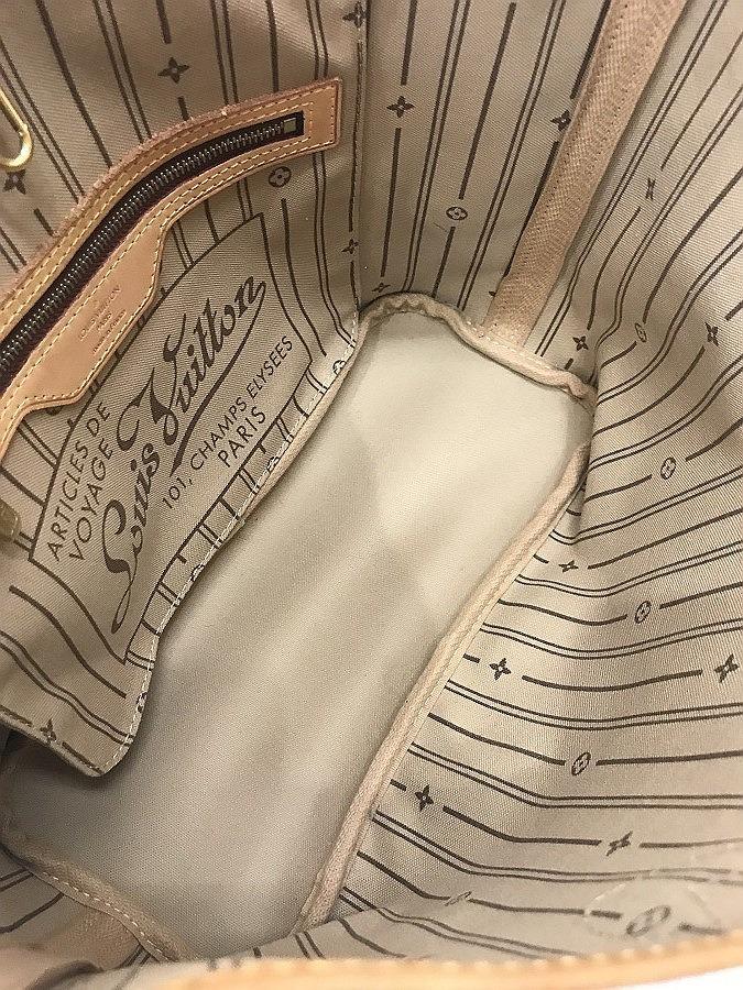 D18●1円~ 中古品 LOUIS VITTON ルイ ヴィトン ネバーフル PM モノグラム ショルダー ハンド バッグ _画像6