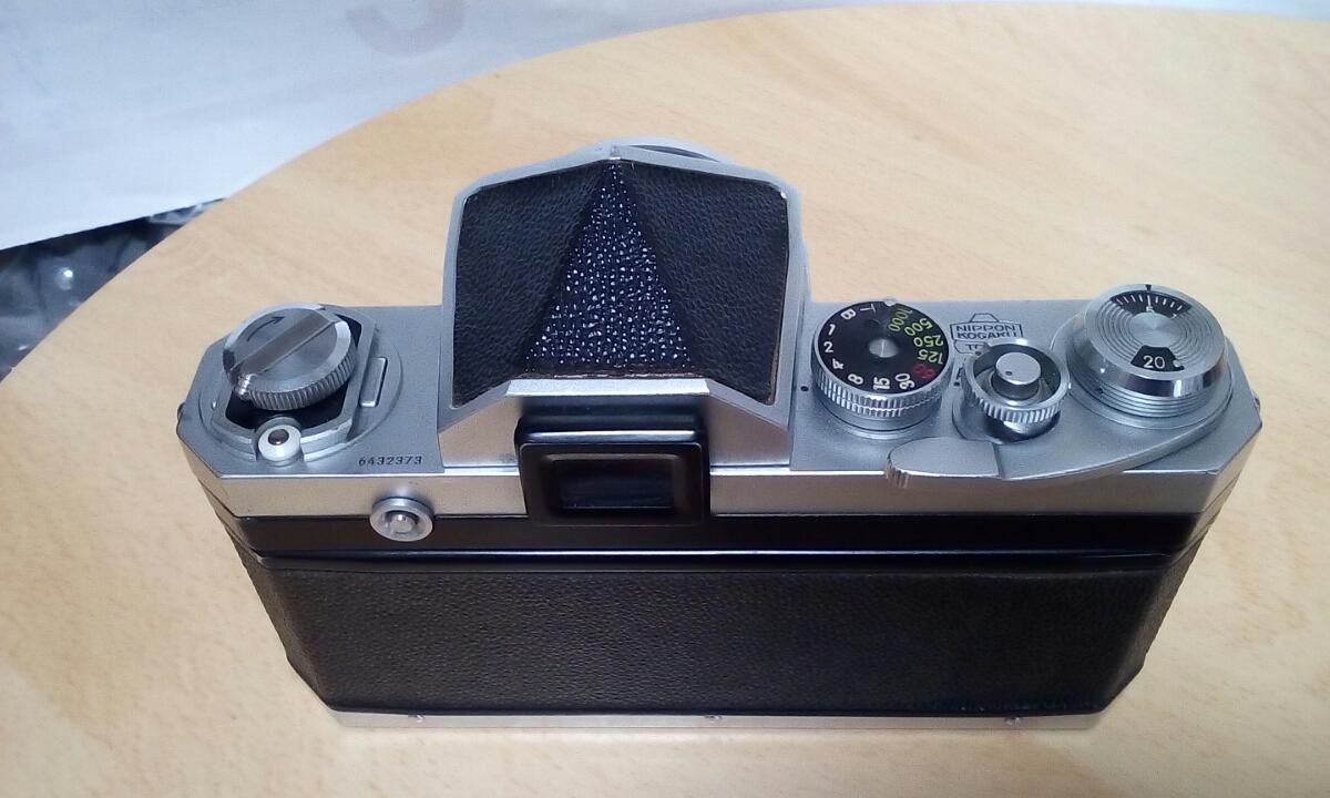 初期型 Nikon F NIKKOR-S Auto 1:2 f=5cm ケース付き_画像2