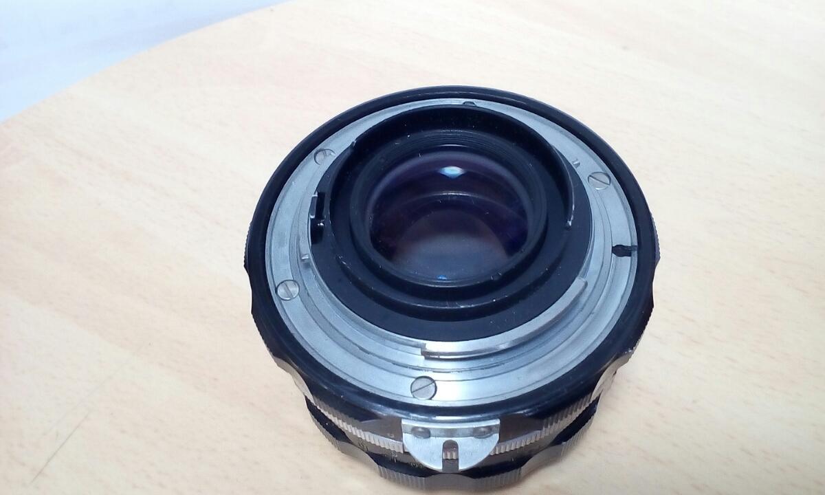 Nikon F ブラック NIKKOR-H Auto 1:2 f=50mm ケース(CS-8)付き_画像6
