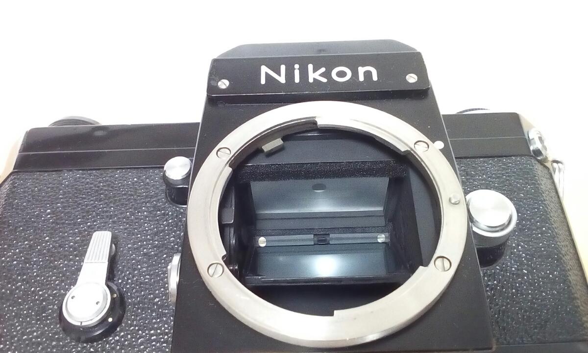 Nikon F ブラック NIKKOR-H Auto 1:2 f=50mm ケース(CS-8)付き_画像4