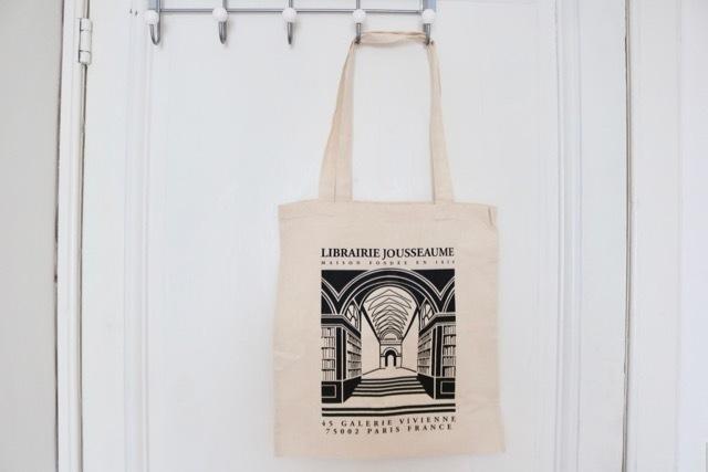 """【パリ】""""Librairie Jousseaume""""(ジュソーム)エコバッグ"""