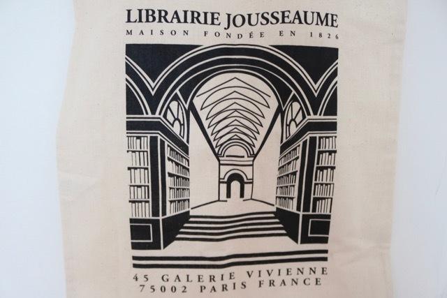 """【パリ】""""Librairie Jousseaume""""(ジュソーム)エコバッグ_画像2"""