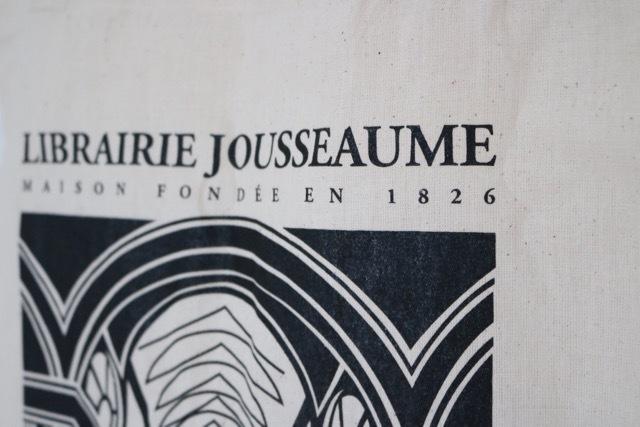 """【パリ】""""Librairie Jousseaume""""(ジュソーム)エコバッグ_画像4"""