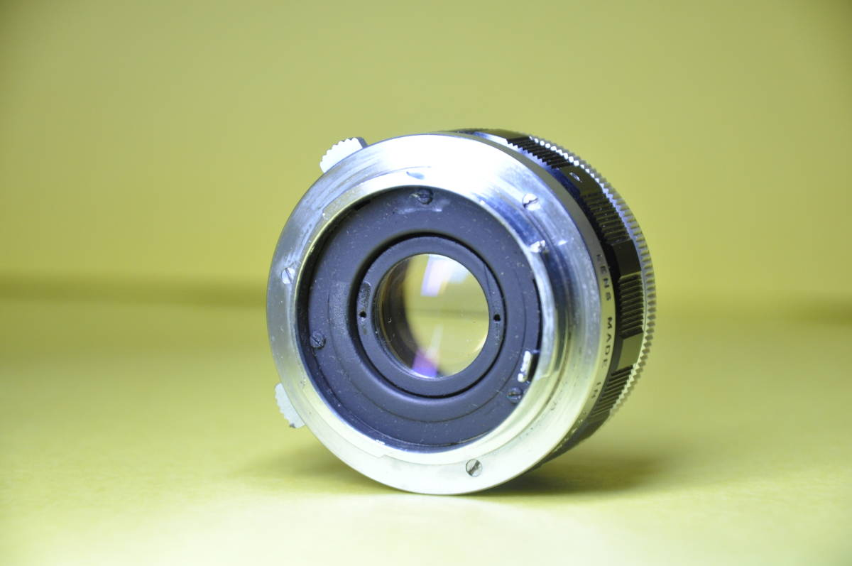 OLYMPUS PEN F PEN F オリンパス ペン 花文字 華文字 F.Zuiko Auto-s 38mm f1.8 , Auto-zoom 50-90mm f3.5 底ケース付き _画像7