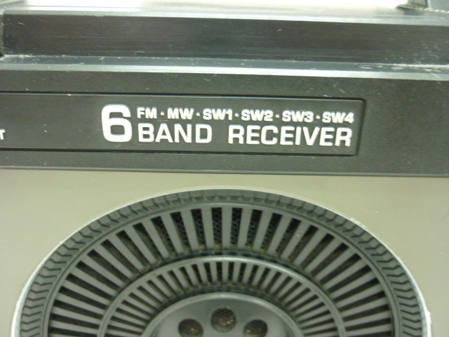 ◆◇昭和レトロ National Panasonic 6BAND RECEIVER FM.MW.SW1~4 アンティーク◇◆_画像10
