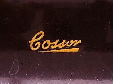 me022 ヴィンテージ Cossor イギリス製 真空管ラジオ ジャンク品_画像4
