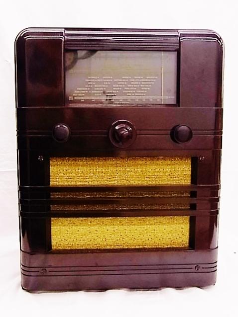 me022 ヴィンテージ Cossor イギリス製 真空管ラジオ ジャンク品