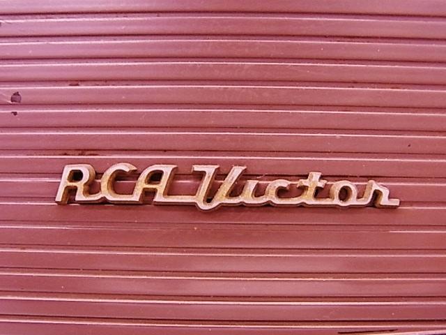 me020 昭和レトロ RCA Victor 真空管ラジオ 稼働品_画像4