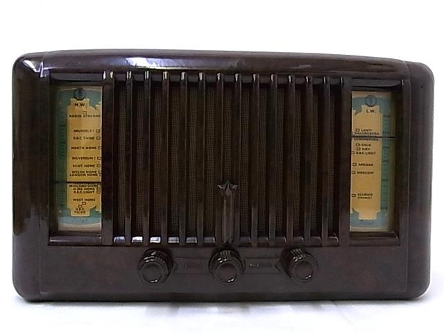 g1878 ヴィンテージ PILOT RADIO社製 LITTLE MAESTRO MODEL10 真空管ラジオ 通電OK ジャンク