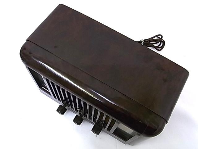 g1878 ヴィンテージ PILOT RADIO社製 LITTLE MAESTRO MODEL10 真空管ラジオ 通電OK ジャンク_画像6