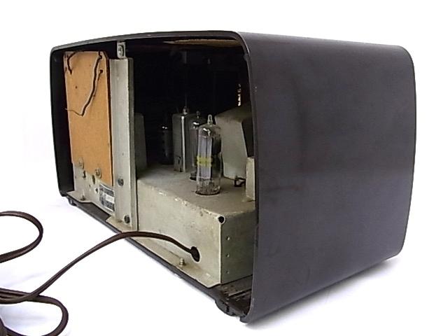 g1879 ヴィンテージ SEARS ROEBUCK AND Co. Silvertone CHASSIS No.132-40500 真空管ラジオ 通電不可 ジャンク_画像5