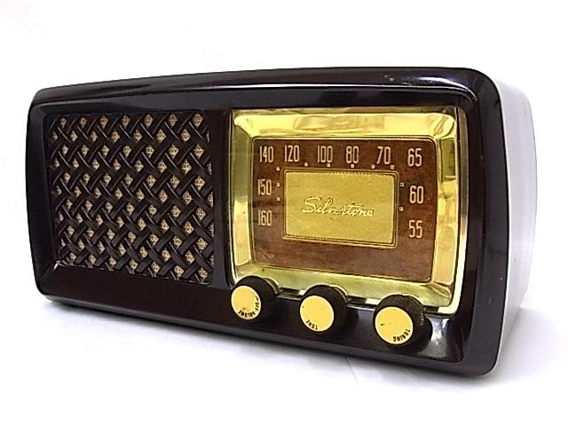 g1879 ヴィンテージ SEARS ROEBUCK AND Co. Silvertone CHASSIS No.132-40500 真空管ラジオ 通電不可 ジャンク_画像2