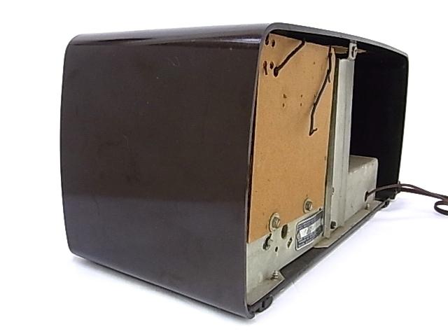 g1879 ヴィンテージ SEARS ROEBUCK AND Co. Silvertone CHASSIS No.132-40500 真空管ラジオ 通電不可 ジャンク_画像3