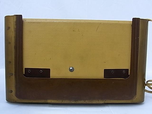 g1880 ヴィンテージ PHILIPS OHILETTA TYPE-BD263U No.W90459A 真空管ラジオ 稼動品_画像6