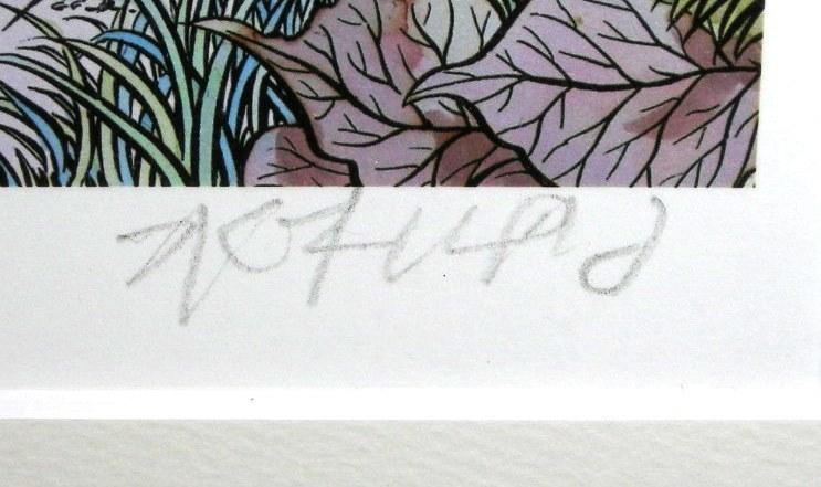 ★ 水木しげる ◆ レフグラフ ◆ ゲゲゲの森の仲間たち ◆ 直筆サイン入り ◆ 激レア ♪_画像5