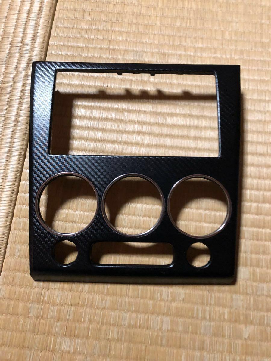 L880K コペン オーディオパネル カーボン調