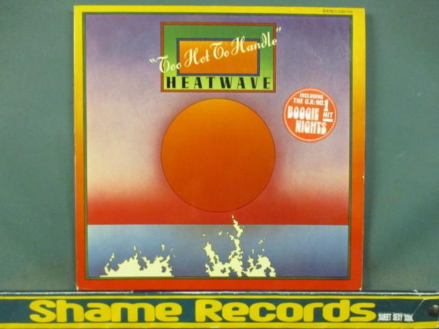 Heatwave : Too Hot To Handle LP // Boogie Nights / Ain't No Half Steppin' / 5点で送料無料_画像1