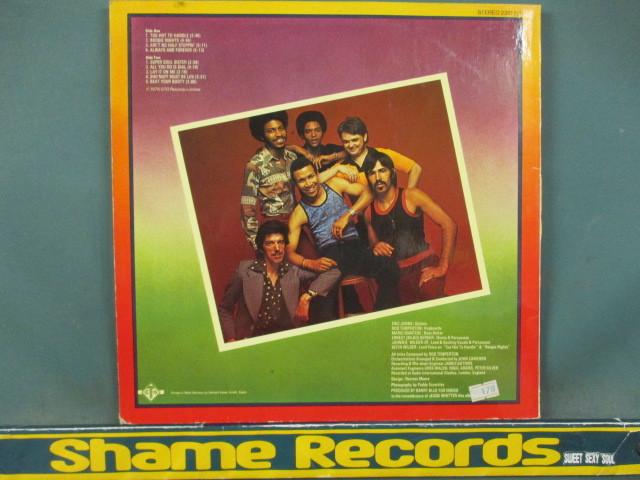 Heatwave : Too Hot To Handle LP // Boogie Nights / Ain't No Half Steppin' / 5点で送料無料_画像2